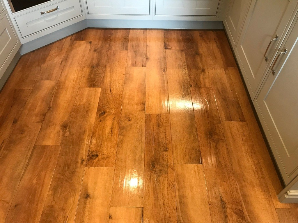 Amtico Floor After Cleaning