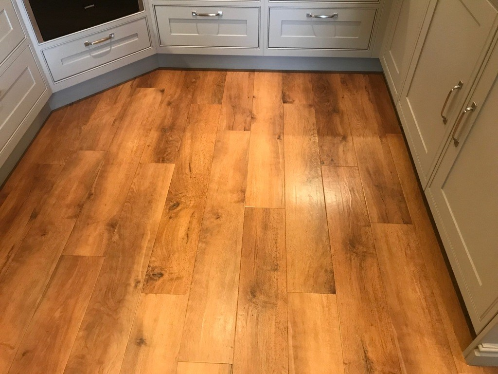 Amtico Floor Before Cleaning